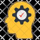 Brain Setting Brain Development Mind Development Icon