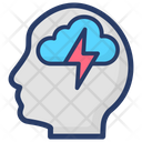 Brain Energy Icon