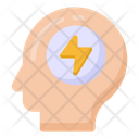 Brain Energy Mind Energy Mind Power Icon