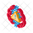 Brain Exclamation Mark Icon