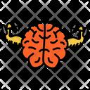 Brain Fitness Brain Exercise Brain Training Icon