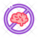 Brain Failed Icon