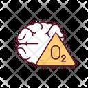 Brain Hypoxia Medicine Icon