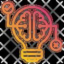 Brain Idea Research Icon