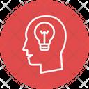 Bulb Creative Human Icon
