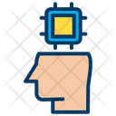 Artificial Brain Intelligence Icon