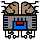 Intelligence Artificial Technology Icon