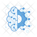 Brain Intelligence Artificial Intelligence Data Intelligence Icon