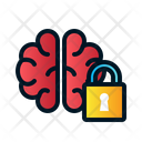 Brain lock Icon
