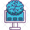 Brain Machine Interface Icon