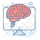 Artificial Intelligence Brain Technology Modern Technology Icon