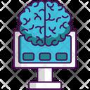 Brain Machine Interface Brain Interface Icon