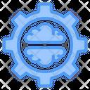 Brain Gear Idea Icon