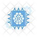 Brain Microchip Icon