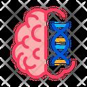 Brain Molecules Icon