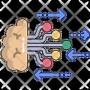 Brain Brain Network Machine Learning Icon