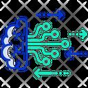 Brain Network Brain Machine Learning Icon