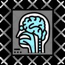 Brain Neurology Report Magnetic Human Icon