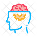 Brain Head Business Icon