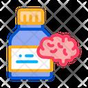 Brain Pills Icon