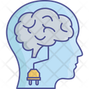 Brain Plug Android Artificial Intelligence Icon