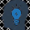 Brain Power Brainstorming Thinking Icon