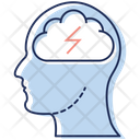 Brain Power Brain Energy Creative Brain Icon