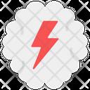 Brain Power Brain Energy Mental Power Icon
