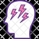 Brain Power Cognitive Icon