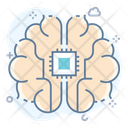Brain Processing Artificial Intelligence Brain Activity Icon