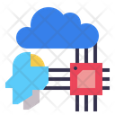 Processor Robotics Brain Icon