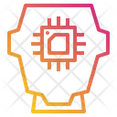 Processor Chip Ai Icon