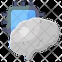 Brain Processor Artificial Intelligence Humanoid Icon