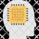 Brain Processor Artificial Icon