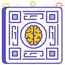 Brain QR Code Icon