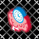 Brain Reaction Time Icon