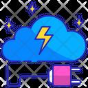 Brain Recharge Energy Icon