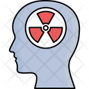 Brain Risk Harmful Radiations Health Ris Icon