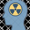 Brain Risk Harmful Radiations Health Ris Icon