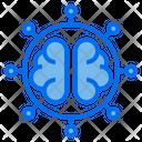 Brain Ai Robotics Icon