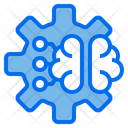Gear Brain Technology Icon