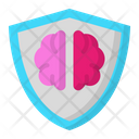 Brain Shield Icon
