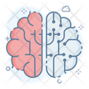 Brain Simulation Icon