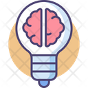 Iq Brain Strength Brain Creativity Icon