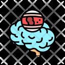 Brain Stroke Stroke Migraine Icon
