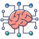 Brain Technology Icon