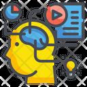 Brain Thinking Icon