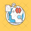 Brain Training Brainstorming Icon
