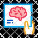 Brain Concept Hand Icon