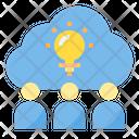 Brainstrom Idea Innovation Icon
